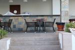 Дизайнерски плотове за маса от верзалит за външна употреба