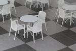 Бели плотове за маса от верзалит