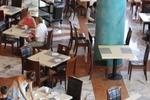 Основи за бар маса с кръгла основа за кафене