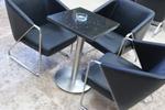 стойки за маса с кръгла основа за заведение