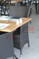 Плотове за маса от верзалит за открито
