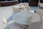 База за маса за сладкарница за външно ползване
