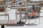 стойки за маса с квадратна основа за ресторант