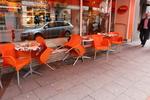 Устойчива стойка за маса за кафенета