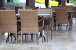 Основа за бар маса за екстериор за заведение