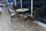 Дизайнерски плотове за маса от верзалит за заведение