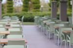 Основи за маси за ресторанти, за външно ползване
