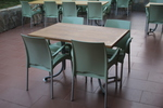 Устойчива стойка за маса за ресторант