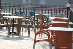 Устойчива стойка за бар маса за кафене