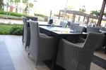 Маса и стол от ратан за заведение