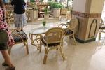 Маса и стол от естествен ратан с високо качество и дълъг срок на използване
