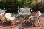Маси и столове от естествен ратан с перфектно качество