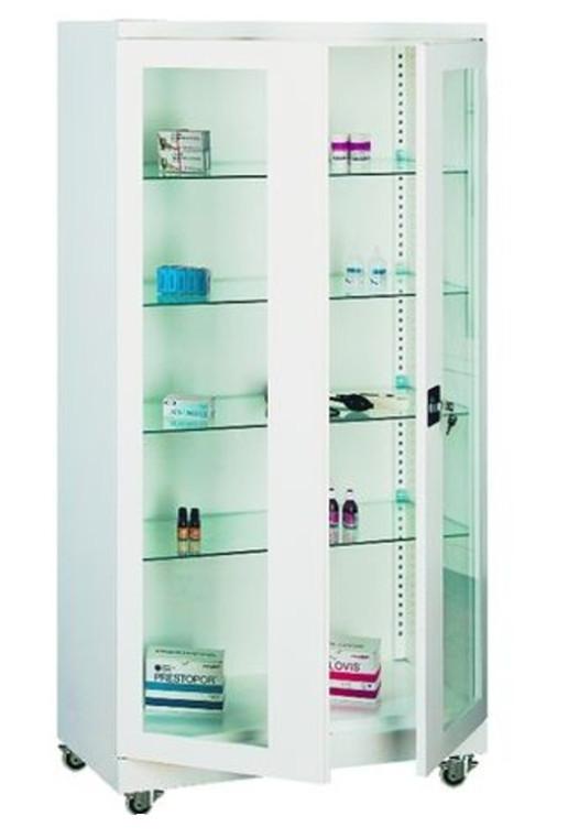 Медицински шкаф Sml 105 на колела