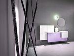 устойчиви  шкафове за баня с водоустойчиви полиуретанови лакове красиви