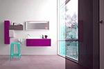 приятни шкафове за баня с водоустойчиви полиуретанови лакове авторски дизайн