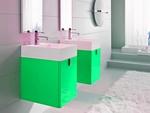висококласни шкафове за баня от естествени материал с красив дизайн