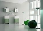забележителни шкафове за баня с водоустойчиви полиуретанови лакове нови
