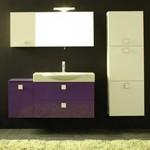 приятни шкафове за баня от пластмаса авторски дизайн