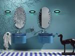 нерушими  шкафове за баня с плот технически камък По поръчка