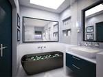 уникални шкафове за баня от пластмаса иновантни