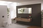 висококласни шкафове за баня с плот технически камък с красив дизайн