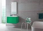 класни шкафове за баня с плот технически камък По поръчка