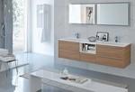 с механизъм шкафове за баня от естествени материал дизайнерски