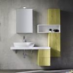 с механизъм шкафове за баня от естествени материал влагоустойчиви