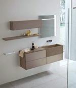 превъзходни шкафове за баня от естествени материал съвременни