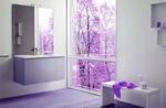 приятни шкафове за баня от естествени материал авторски дизайн