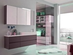 надеждни  шкафове за баня по клиентски размер красиви