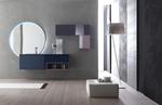 атрактивни шкафове за баня с плот технически камък най-нови