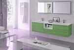 с механизъм шкафове за баня с доставка влагоустойчиви