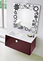 устойчиви  шкафове за баня с доставка красиви