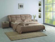 Тапицирано спалня с еко кожа