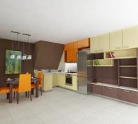Скосена кухня Soft urbane