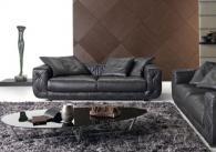 Мека мебел в черно