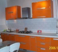 Кухня - оранжев Лакобел