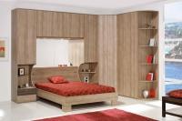 ъглов спален комплект