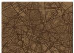 Плот за маса верзалитов кафяв