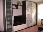 Мебели за хол с принт стъкло