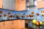 Обзавеждане за кухни ПДЧ оранжев мат