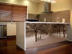 Мебели за кухня с принт елементи