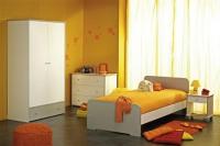 Детска стая - в бяло и сиво