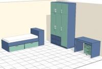 проект на детска стая  3