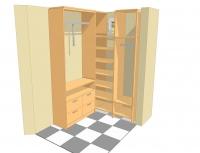 лукс обзавеждане за модерна гардеробна за ваканционни жилища