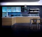 Кухня с алуминиеви витрини
