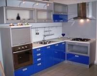 Кухня с щора