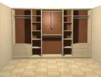 Модул от гардеробна стая