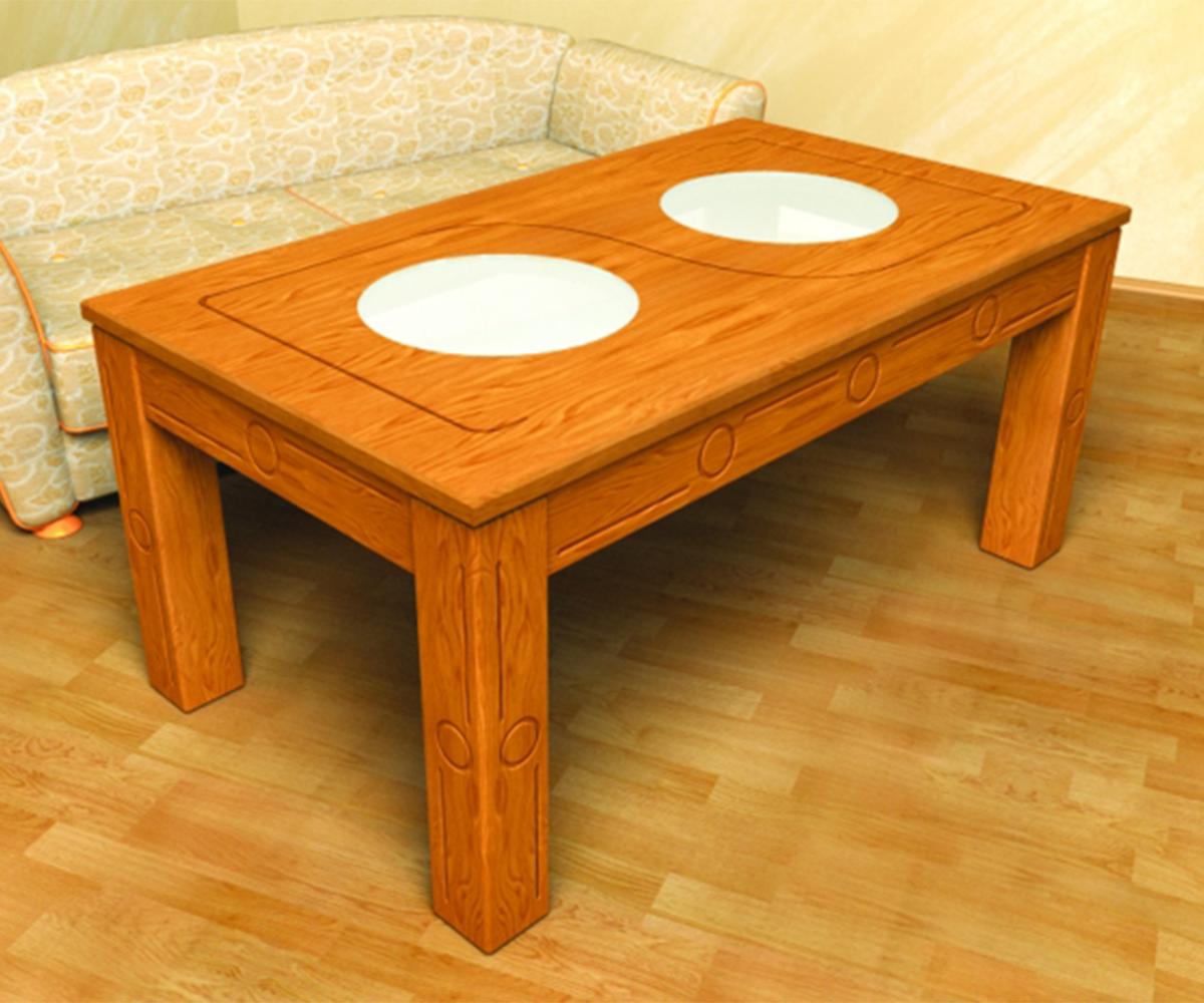 Трапезна маса от масив Сара - Арт 12